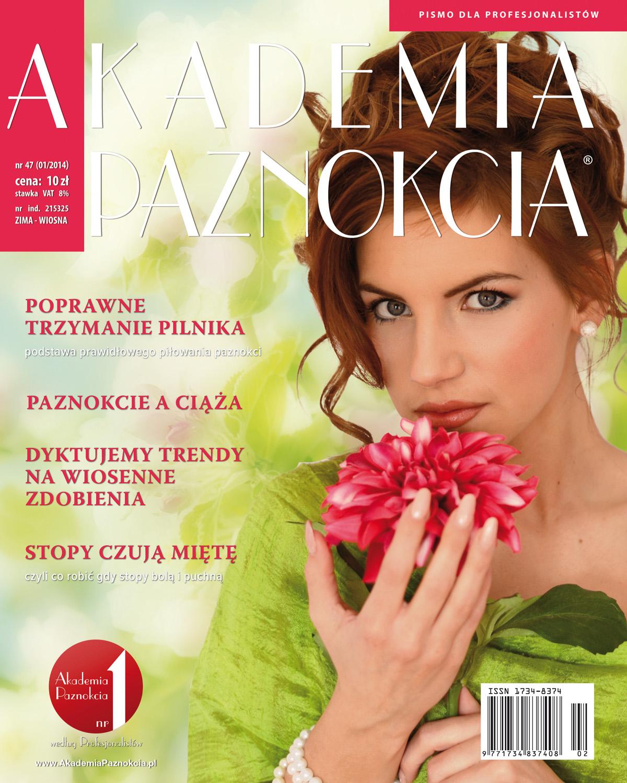 Pismo Akademia Paznokcia - okladka1srednia